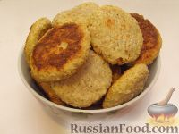 """Фото к рецепту: Печенье из овсяных хлопьев """"Геркулес"""" и творога"""