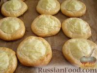 Фото приготовления рецепта: Шаньги с картофелем - шаг №15