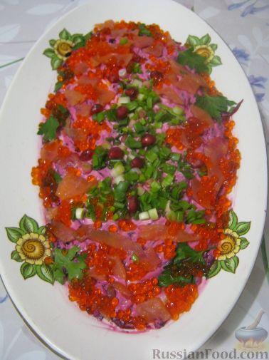 рецепт салата царская шуба с авокадо ,крабовое мясо