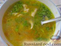 Фото к рецепту: Суп со скумбрией