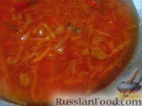 Фото к рецепту: Борщ красный с шампиньонами