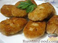 Фото к рецепту: Рыбные котлеты