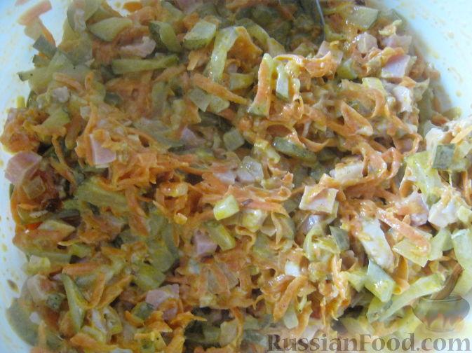 Салат с курицей обжорка