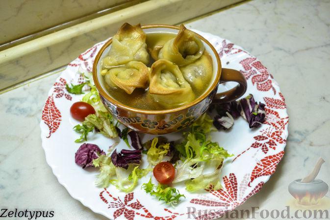 Рецепт Кундюмы в грибном бульоне