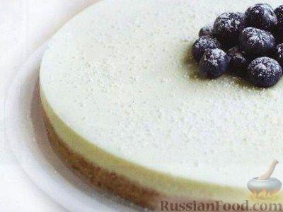 Чизкейк без выпечки рецепт пошаговый и фото