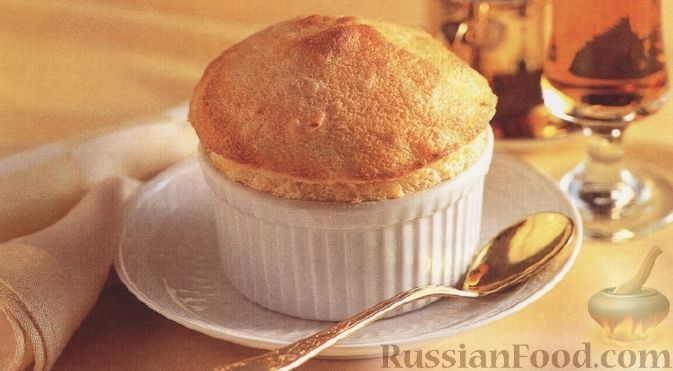 Рецепт Абрикосовое суфле
