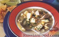 Фото к рецепту: Латинский куриный суп