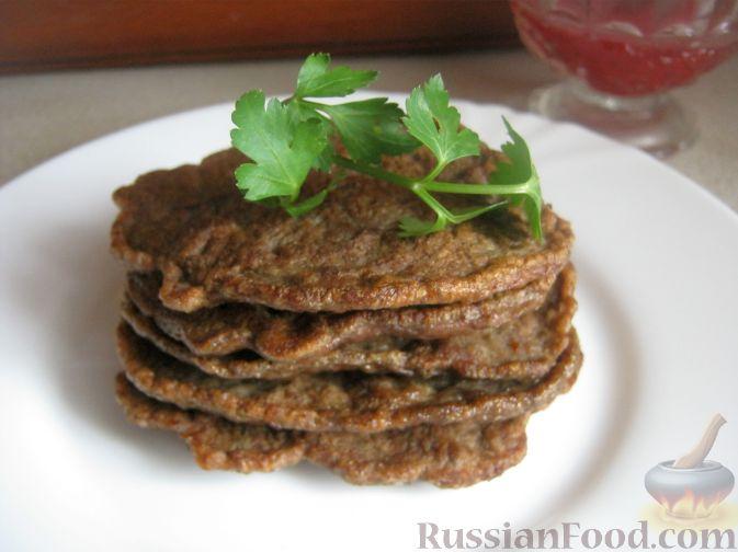 рецепт печень оладья