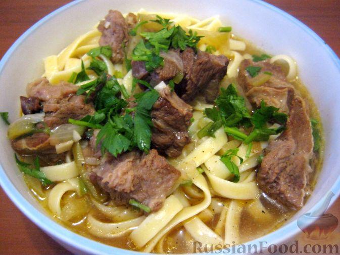 рецепт китайского супа с говядиной