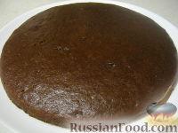 Фото к рецепту: Пирог простой шоколадный
