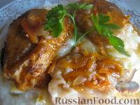 Фото к рецепту: Хек в томатной зажарке