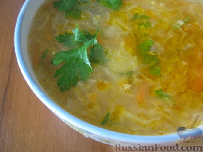 рецепт капустняк с пшеном