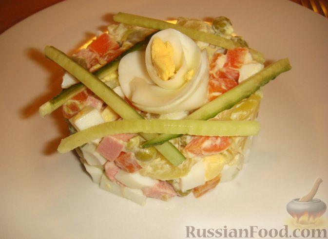 Оливье салат рецепт домашний