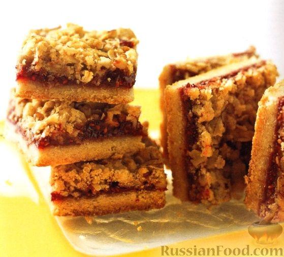 Рецепт песочного пирога с начинкой