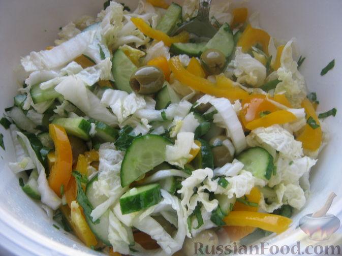 сладкий салат со свежими огурцами рецепт