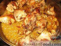 Фото приготовления рецепта: Бозартма из курицы - шаг №5