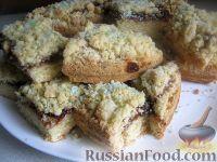 Фото к рецепту: Тертый пирог вегетарианский