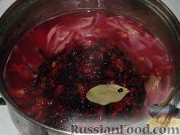 Фото приготовления рецепта: Борщ с говядиной - шаг №13