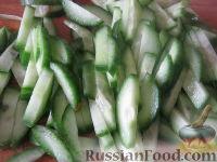 """Фото приготовления рецепта: Салат из курицы с черносливом """"Дамский каприз"""" - шаг №6"""