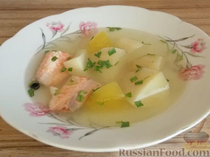 Приготовить суп из форели