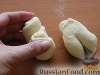 Фото приготовления рецепта: Домашние плюшки - шаг №9