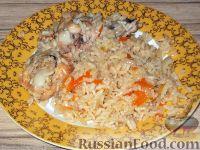 Фото к рецепту: Плов с курицей