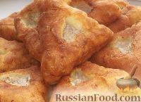 Фото к рецепту: Жареные пирожки с мясом