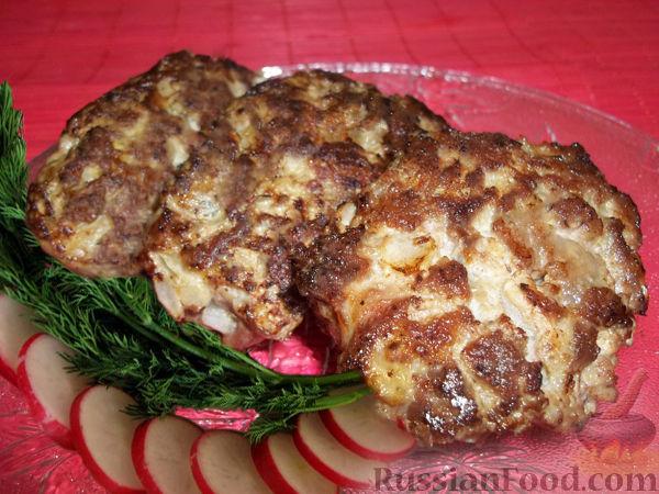 отбивные из рубленного мяса рецепт