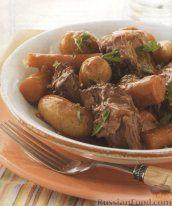 Рецепт Говядина с овощами в соусе