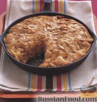 Фото к рецепту: Пирог с персиком