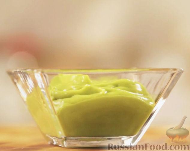 Рецепт Соус из авокадо и васаби