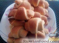 Фото к рецепту: Рогалики с повидлом