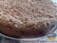 Фото к рецепту: Нежный пирог с творожно-абрикосово-маковой начинкой