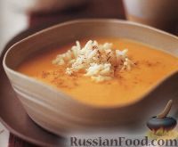 Фото к рецепту: Тыквенный суп-пюре с рисом