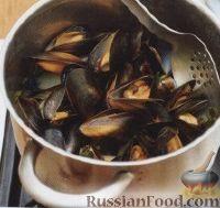 Тальятелле с мидиями - рецепт пошаговый с фото