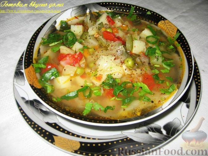 суп из овощей рецепты