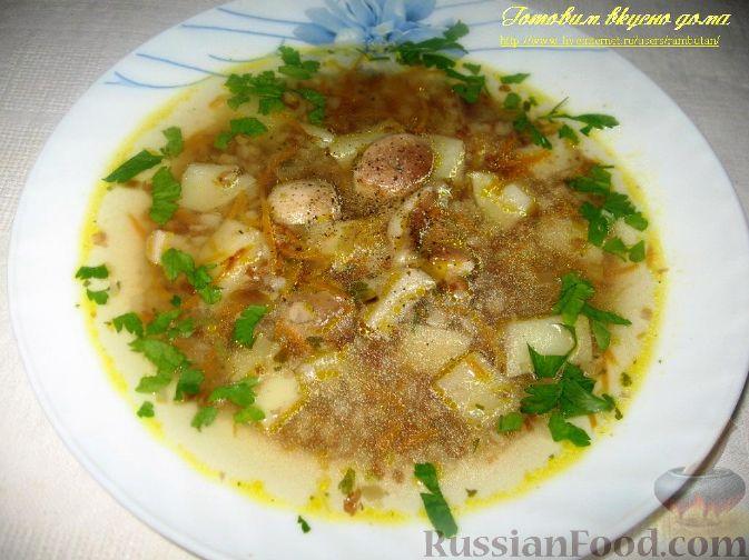 суп с белыми грибами и свининой рецепт