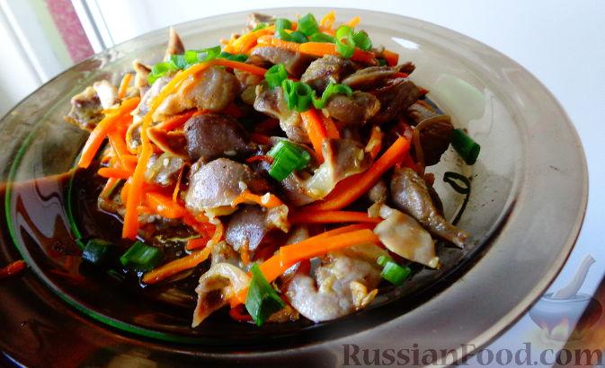 Пупки по корейски рецепт