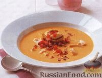 Фото к рецепту: Суп-пюре с лососем