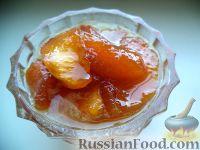 Фото к рецепту: Варенье из персиков