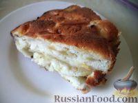 Фото к рецепту: Яблочная шарлотка