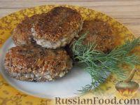 Фото к рецепту: Котлеты из гречневой каши с картофелем