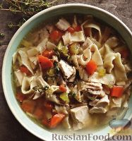 Суп на индоутиных окорочках с ячкой - рецепт пошаговый с фото