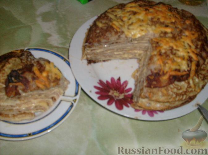 Рецепт Пирог Блинница