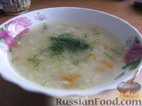 Фото к рецепту: Пшённый суп с консервой