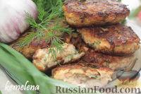 Фото к рецепту: Котлеты из лосося