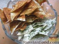 Фото к рецепту: Чипсы из лаваша