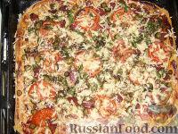 Фото к рецепту: Пицца