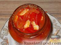 Фото приготовления рецепта: Салат из сладкого перца и помидоров - шаг №8
