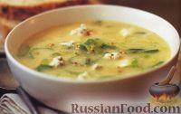 Фото к рецепту: Луковый суп с голубым сыром